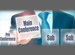 Pre/Post/Sub Conference